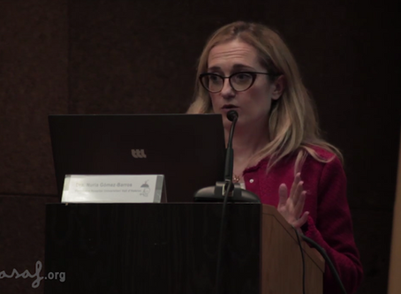 Segunda parte de la ponencia de la Dra. Nuria Gómez-Barros