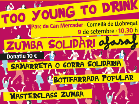 Xarxa solidària ens entrega 2.500€, resultat de les activitats de la Zumba