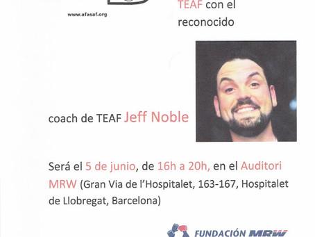 Novament, el Jeff Noble amb nosaltres!