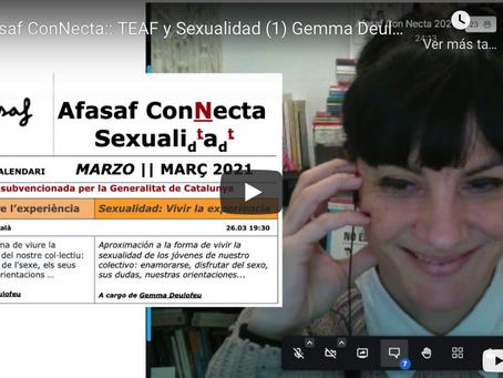 Afasaf ConNecta - Sexualidad: Vivir la experiència - 26 marzo, 19:30H.