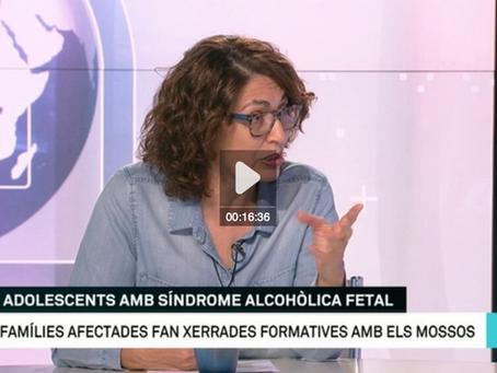 """Lunes 19 de abril en Matins de tv3 """"ELS ADOLESCENTS AMB SAF"""" A las 10:30"""