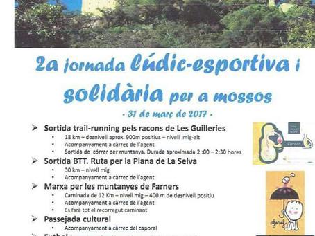 2a jornada lúdic-esportiva i solidària per a mossos