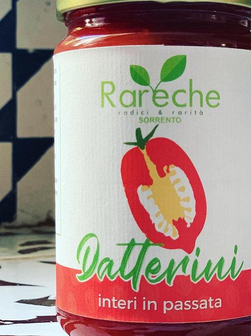 Pomodori datterini rossi interi in succo