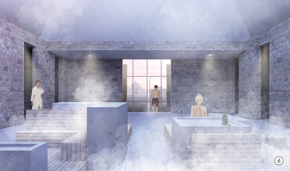 Communal Steam Room