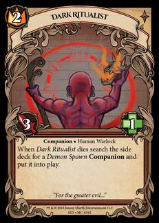 Dark Ritualist