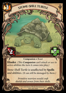 Stone-Shell Turtle