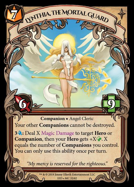 Lynthia, the Mortal Guard