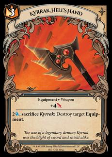 Kyrrak, Hell's Hand