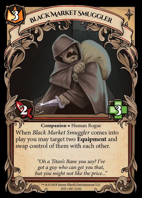 Black Market Smuggler