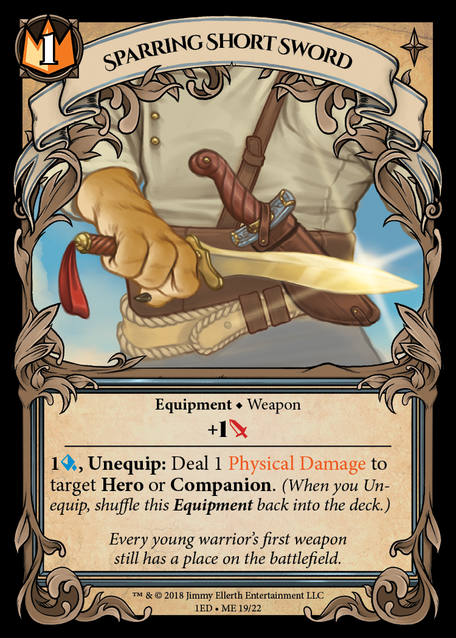 Sparring Short Sword