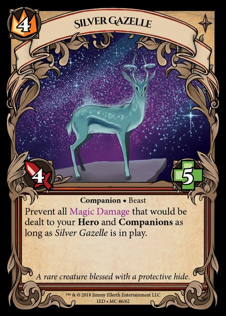 Silver Gazelle