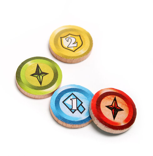 Wooden Token Pack