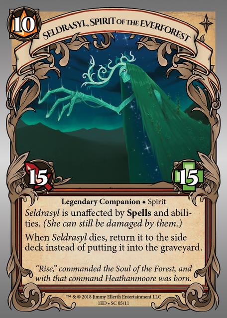 Seldrasyl, Spirit of the Everforest