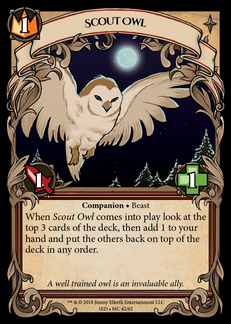 Scout Owl
