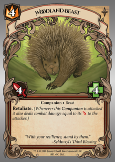 Woodland Beast (Porcupine)