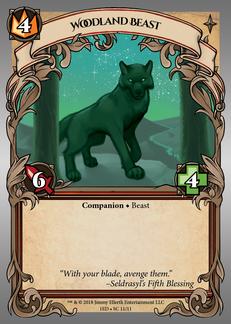 Woodland Beast (Wolf)