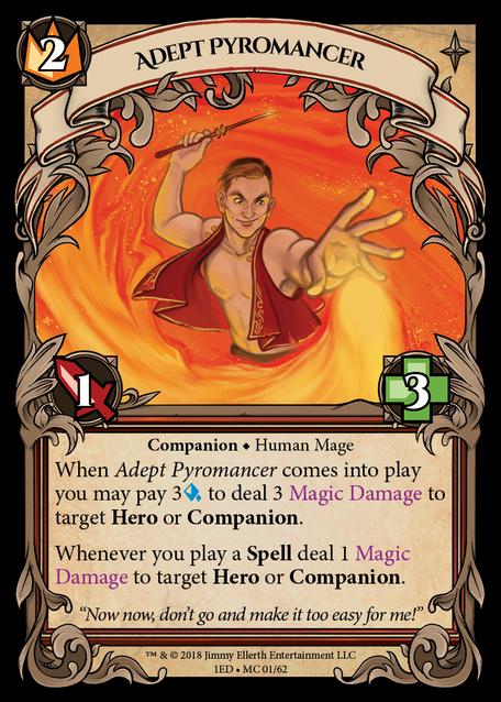 Adept Pyromancer
