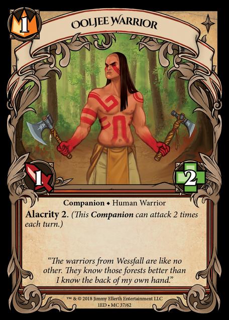 Ooljee Warrior