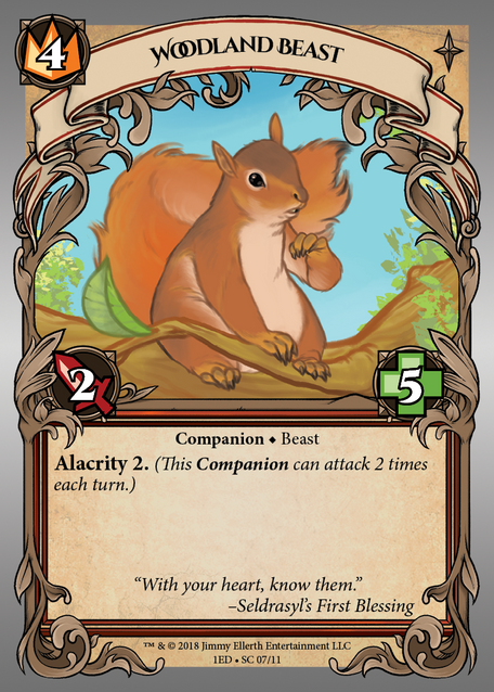 Woodland Beast (Squirrel)