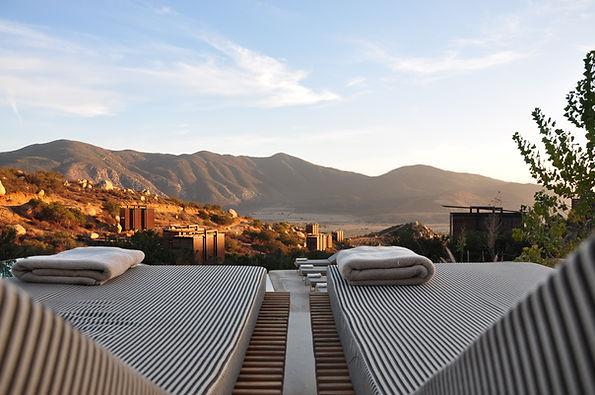 Vista del valle de Amazcala desde Acantha Zibatá