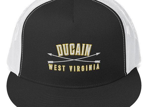 Ducain WV Flat Bill Trucker Hat