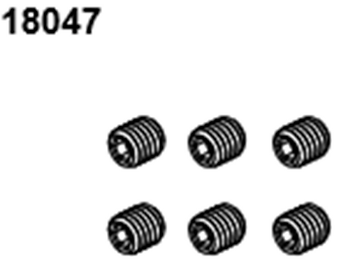 BLAZE18 Grub Scerews M3*3 6p