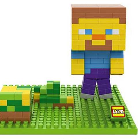 Minecraft - Grass Steve