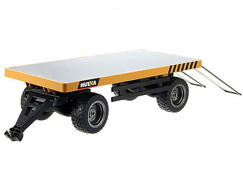 1/10 Flatbed Die-Cast Trailer