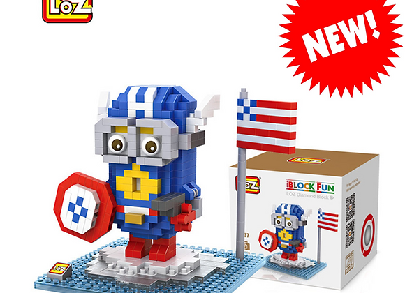 Minions - Captain America