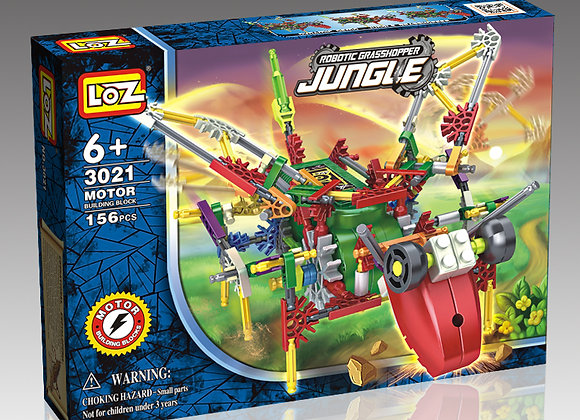 Jungle - Grasshopper
