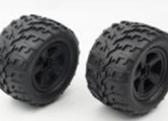 SHREDDER wheel with sponge