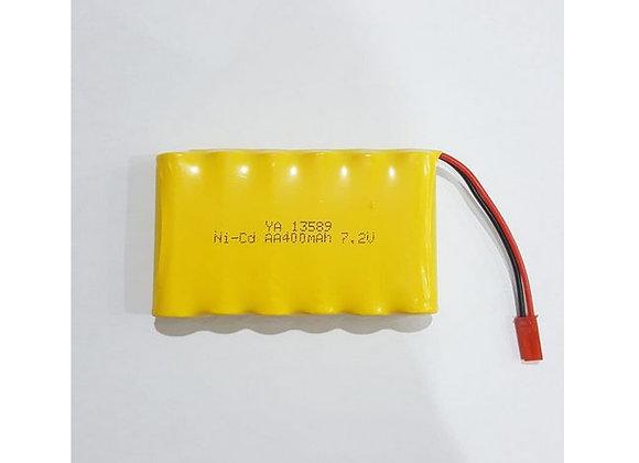 7.2V 400mah battery with JST