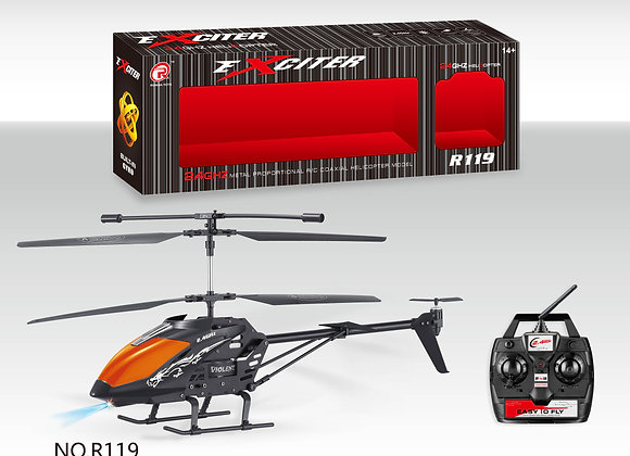 2.4G Large 3.5 Channels R/C Helicopter - Exciter