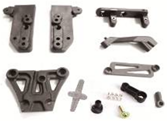 Front Top Plate+Braces+Servo Saver+Servo Arm