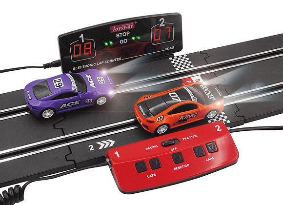 Digital Display Electronic Lap Counter & Powerbase Combo Track