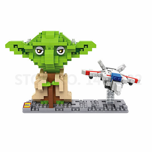 Star Wars - Yoda & Spaceship