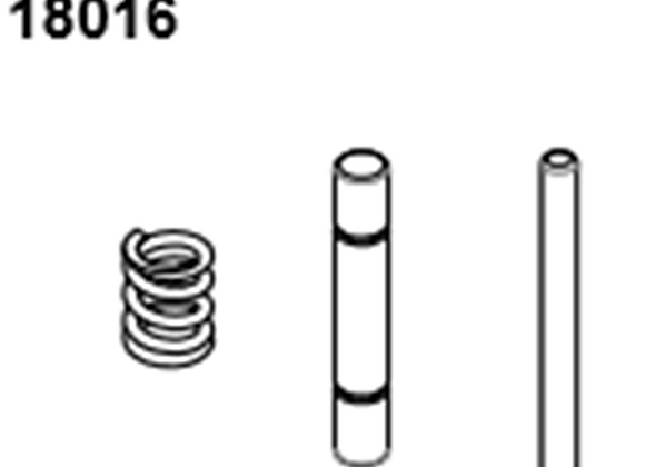 BLAZE18 Servo Shaft/Spring 1 set