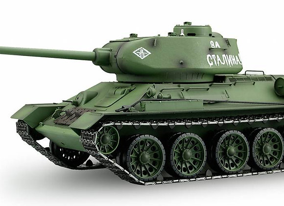 6.0V 1:16 Soviet Union T-34/85 RC Tank (BB AND IR) - PRO VERSION