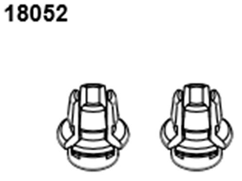 BLAZE18 Buggy Body Post  2p