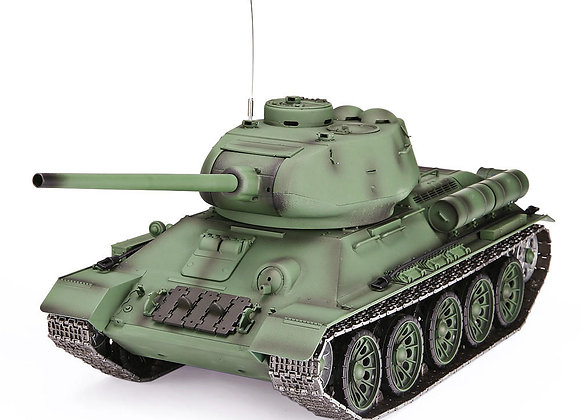 V6.0 1/16 Soviet Union T-34/85 RC Tank (BB & IR)