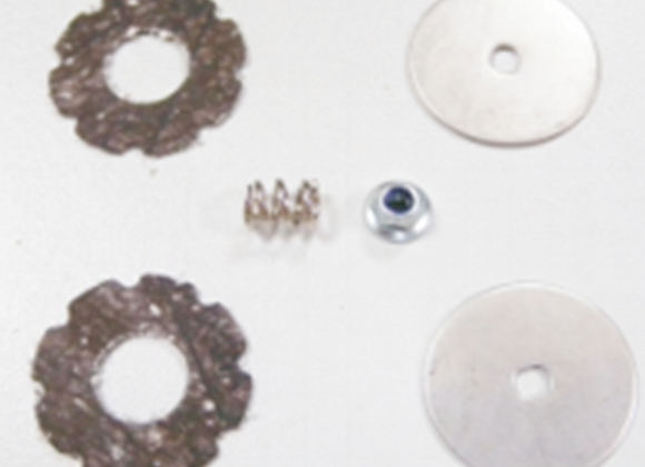 clutch gear assembly Flange Lock Nut M3 Set