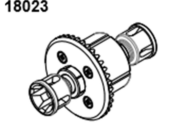 BLAZE18 F/R Diff gear 1 set