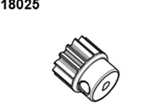 BLAZE18 Pinion Gear Plastic 13T 1p