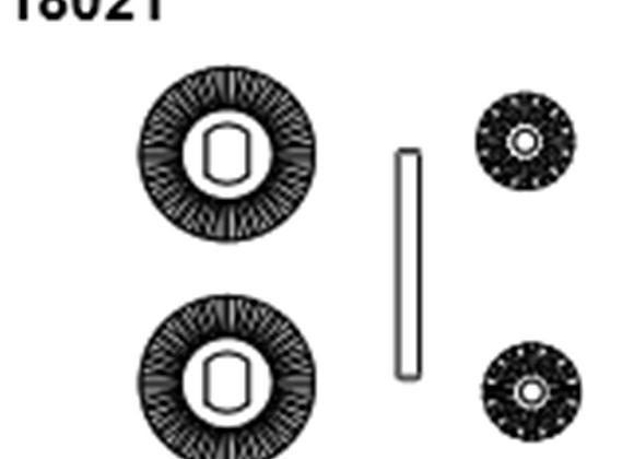 BLAZE18 Diff Gear 24/12T 4pc