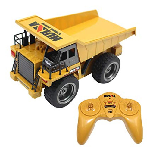 1/18 2.4G 6CH RC Die-Cast Dump Truck