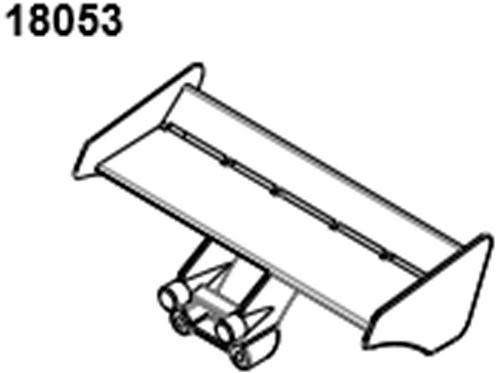 BLAZE18 Buggy Wing  1set