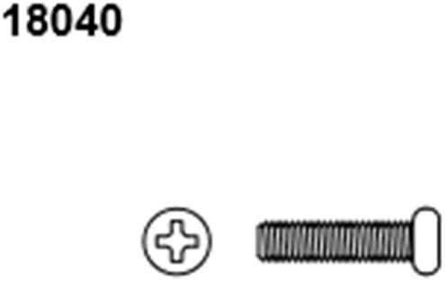 BLAZE18 Button Head Screws 2.6*8 6p