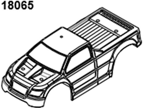 BLAZE18 Monster Truck Body 1p