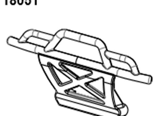 BLAZE18 Front Bumper  1set