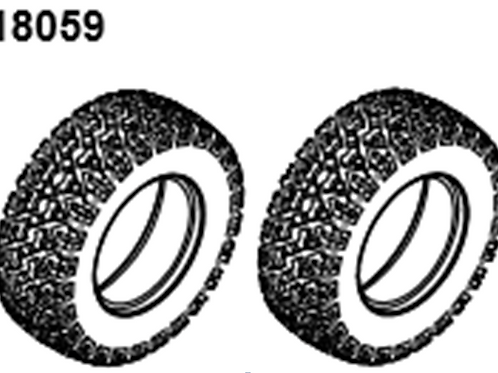 BLAZE18 Desert Buggy/Short Course Tire&From  2p